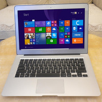 Ultrabook i5 8GB RAM 128GB SSD cpu Intel Laptop Metal Silver Thin Light Fast Windows 10 13.3inch AZERTY Spanish Russian Keyboard