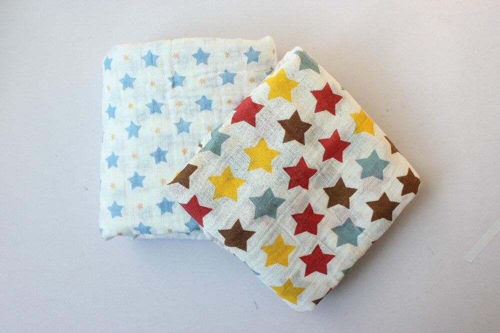 Swaddle Muślin Cotton Baby Swaddle dla noworodka Koc dla dzieci i - Pościel - Zdjęcie 4
