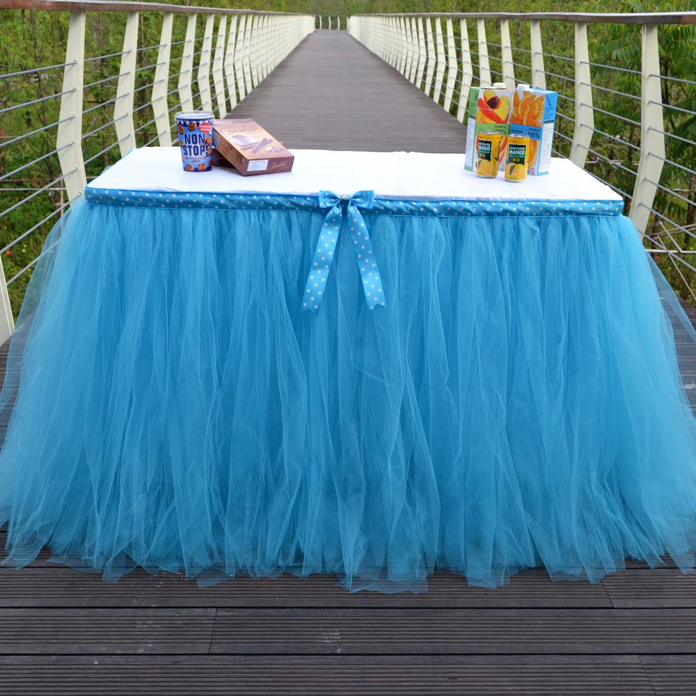 get cheap tulle table skirt aliexpress