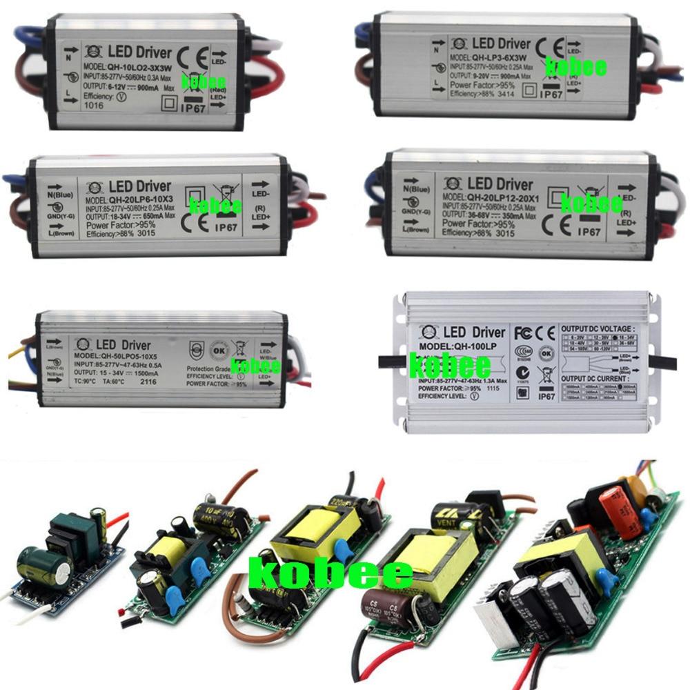 AC85-265V 3W-100W No-waterproof LED Chip Driver Power Supply Driver Transformer