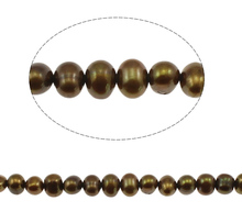 YYW 6-7mm Baroque Shape Cultured Pearl Beads Natural Pearl Beads DIY Loose Beads For Jewelry Making Strand 14.55 Wholesale 16 inches 30 40mm aaa natural lavender fireball baroque pearl loose strand