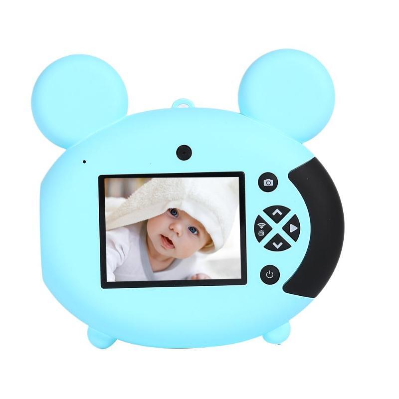 8MP HD Kids Mini Digital Video Camera Recorder Toy Built-in Speaker Support Mic Jerry 5601 Master Chip Multi-Language