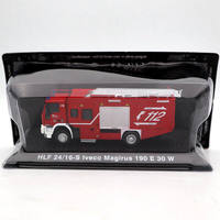Atlas 1:72 HLF 24/16S Iveco Magirus 190 E 30 W Fire truck Diecast Models Collection Car Toys