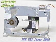 SPU 3170/SPU 3170G VOOR PS2 Laser Lens met MECHAISM SPU3170 Voor PS2 Slim Game Console Voor SCPH 7500X LASER HOOFD SPU3170G