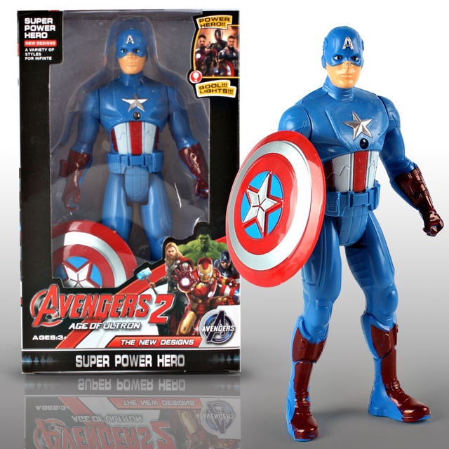 2018 NEW Marvel PVC Action Figure Amazing Ultimate Hulk Captain America Iron Man Collectible Model Toy for Kids Christmas Gifts