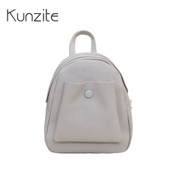 Kunzite brand fashion mini backpack women pu leather backpacks for teenage girls school bags ladies travel.jpg 250x250