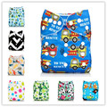 1pcs Cloth Diaper Nappy Cover 2016 Reusable Baby Diapers Soft cloth diaper Pocket printing Washable Diapper cover