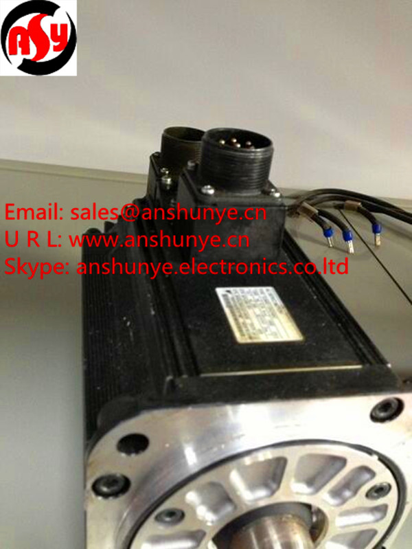 YASKAWA AC Servo Motor  SGMG-13A2ABC ,Second Hand Looks Like new Tested Working чехол книжка боковой с окошком для samsung galaxy s4 mini i9190 i9192 boostar золотой