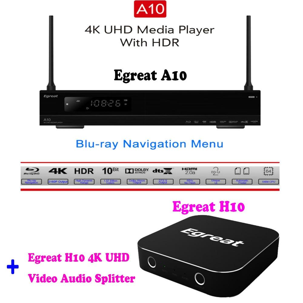 Egreat A10 4K Blu ray Hard Disk Player ISO Playback Navigation Menu font b Android b