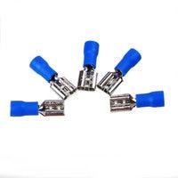 20Pcs Spade Terminal Semi-insulated Female Disconnect Connectors Wires Connector tools ferramentas
