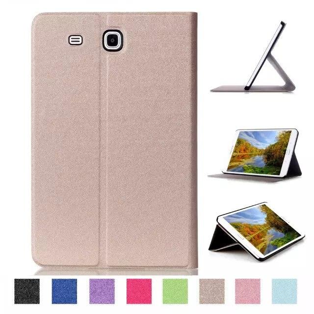 Case for Samsung Galaxy Tab E 9.6 Folding Flip Smart Cover PU Leather Case for Samsung Galaxy Tab E 9.6 T560 T561 SM-T560