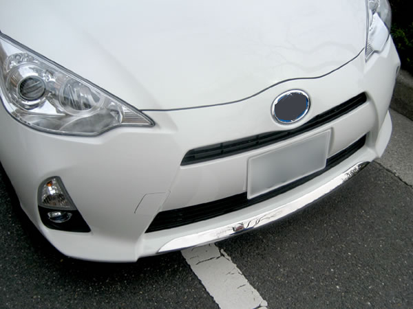 JY SUS304 Stainless Steel Front Bumper Lip Trim Car Styling Cover Accessories for Toyota Prius C