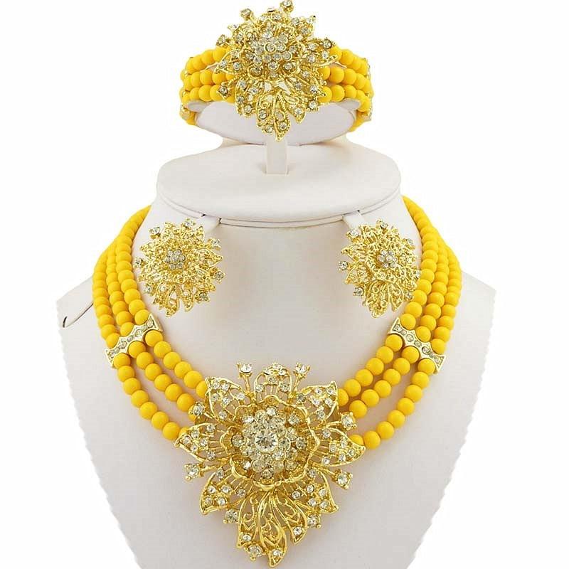 աֆրիկյան զարդերի հավաքածուներ - Նորաձև զարդեր - Լուսանկար 5