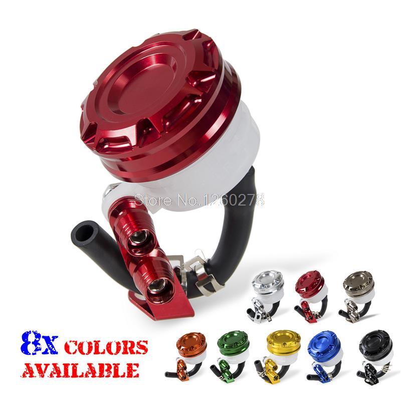 Red Front Brake Tank Master Cylinder Fluid Reservoir For Honda CR125/250 CBR250/450 Motorcycles Frames Parts