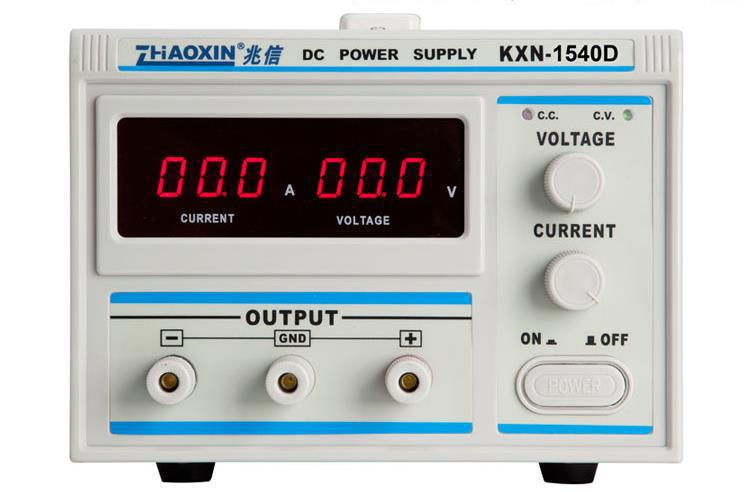 high quality Factory direct KXN-1540D Series High-power Switching DC Power Supply Single output 0-15V 0-40A Free DHL Fedex new digital kxn 1520d high power switching dc power supply 0 15v voltage output 0 20a current output