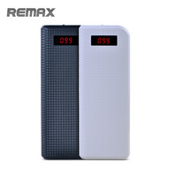 Remax 20000mah Power Bank Portable Dual USB Output Port External Battery Digital Display Powerbank For Iphone