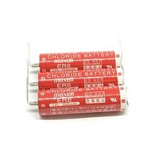 10pcs/lot New Genuine Maxell ER6 3.6V 2000mah Horned Lithium Li-ion Battery PLC Batteries