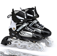 Professionele Verstelbare Volwassen Sliding/Slalom Inline Skates Schoenen Rolschaatsen Schoenen Roller Skate Schoenen Met Stralende Wiel