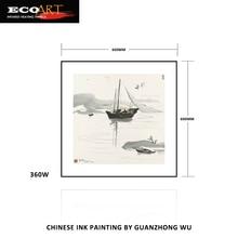 360 Вт арт-деко китайская живопись тушью инфракрасные обогреватели с WiFi термостатом