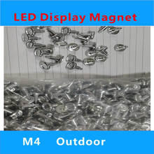 M4Outside thread  LED Display Magnet for Indoor Module P3 P4 P5 P6 P8 P10 outdoor