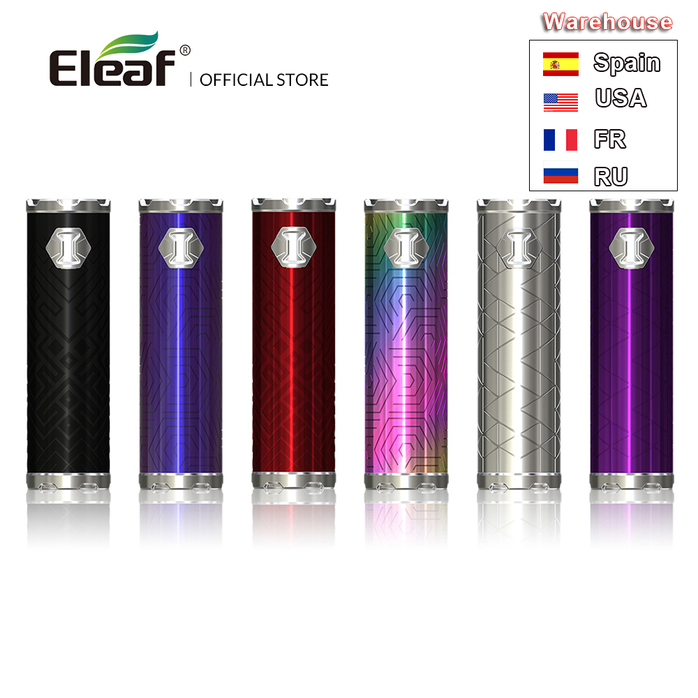 Lager Original Eleaf ijust 3 Batterie box mod mit 3000mAh batterie 80W Leistung Ausgang Vape stift elektronische zigarette mod