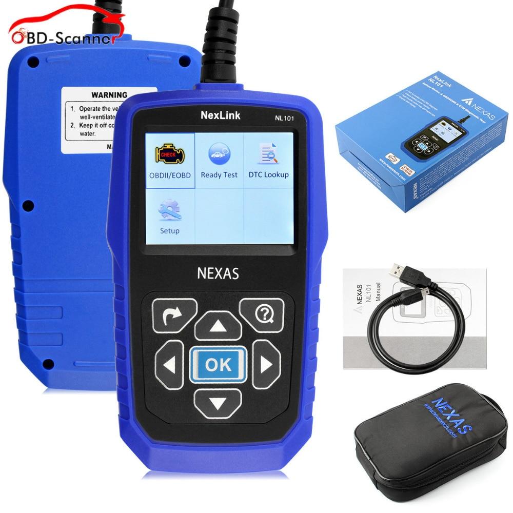 ФОТО scaner automotivo  Universal Automotive Scanner OBDII/CAN EOBD Diagnostic Scanner I/M Readness Live Data