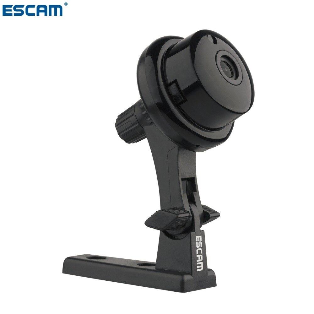 ESCAM Q6 1.0MP botón MINI cámara WIFI dos-forma de voz incorporado ranura para tarjeta TF noche visión hogar de la cámara de seguridad IP