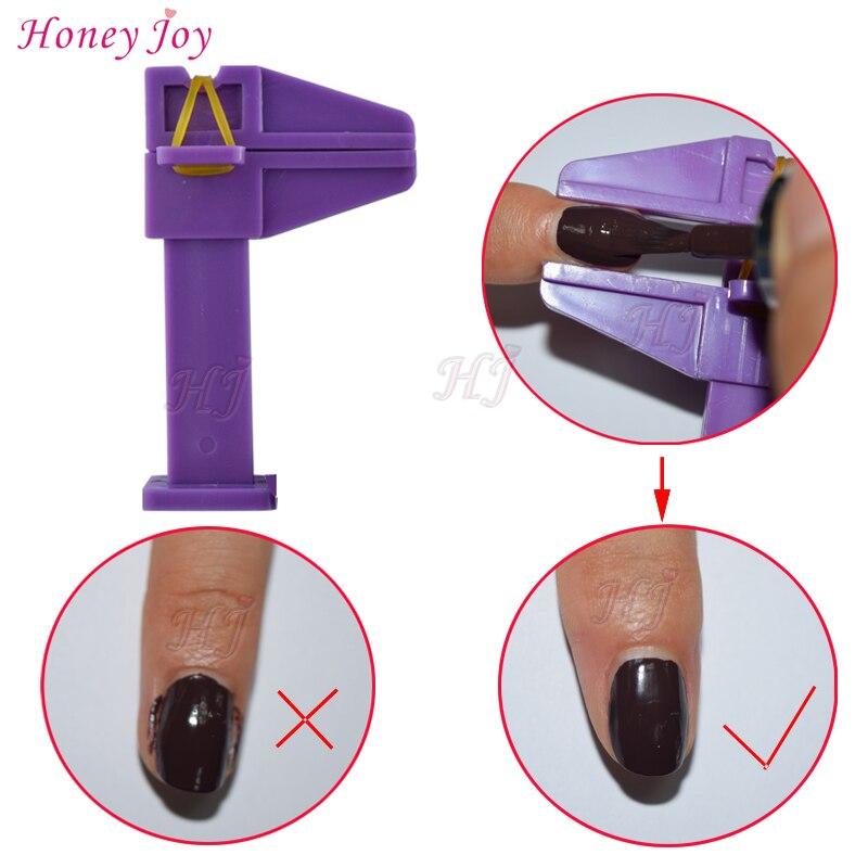 2 stks / partij Vinger Pinch Nail Clamp voor Nail Gel Polish Grens Schoonheid Nail Art Huidverzorging Manicure Tool