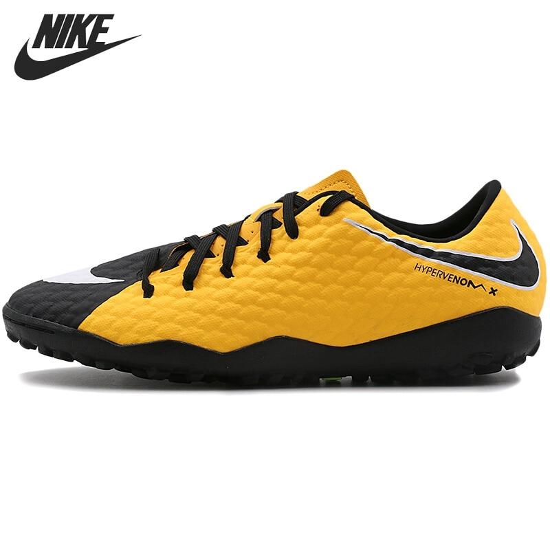 все цены на Original New Arrival 2017 NIKE HYPERVENOMX PHELON III TF Men's Football Shoes Sneakers