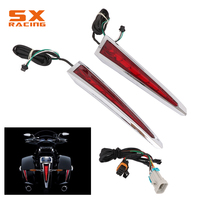Motorcycle Saddlebag LED Lights For Victory Cross Country 2010 2017 Hard Ball 2012 2013 Cross Roads with OEM Hard Bags 2010 2014