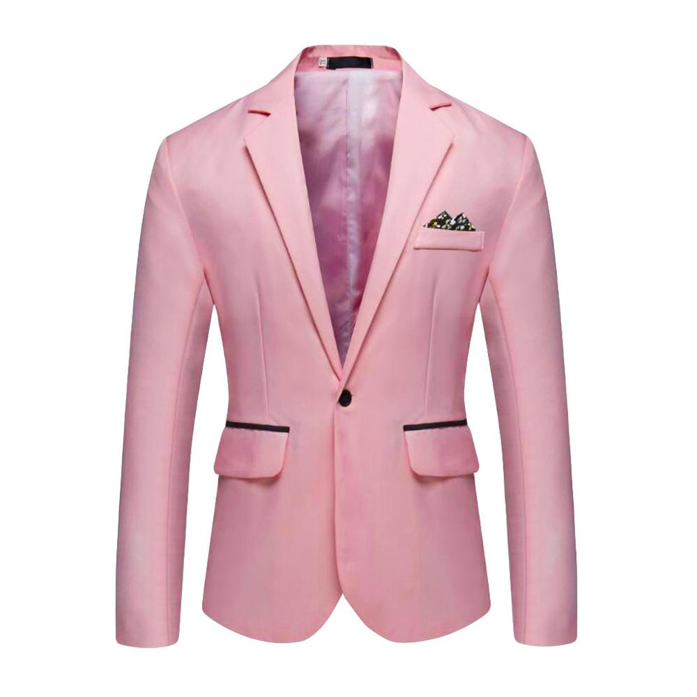 Men's Stylish Casual Solid Blazer Business Wedding Party Outwear Coat Suit Tops Offices Classic Suit Formal Jacket Man  L15#