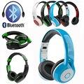 Беспроводная Связь Bluetooth наушники наушники Стерео Глубокий Бас Гарнитуры Оголовье Handsfree MP3 Плеера наушники для iphone Huawei