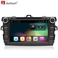 Junsun 8 2 Din Android 6 0 Car DVD For Toyota Corolla 2007 2011 Radio Autoradio