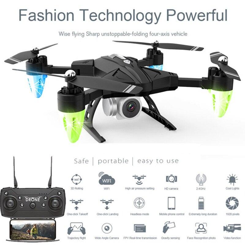Venda quente RC Zangão Helicóptero com Câmera HD 1080 P WI-FI FPV Zangão Selfie Profissional Dobrável Quadcopter 20 Minutos Bateria vida