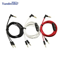 Headphone Cable For Sol Republic Master Tracks HD V8 V10 V12 X3 Earphone 3 5mm To