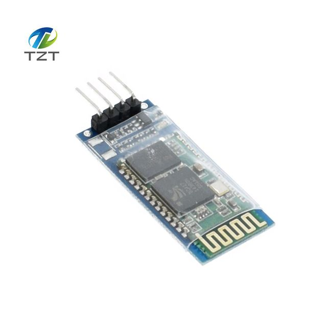 1PCS HC06 HC-06 Wireless Serial 4 Pin RF Transceiver RS232 TTL Bluetooth Module Plug-in