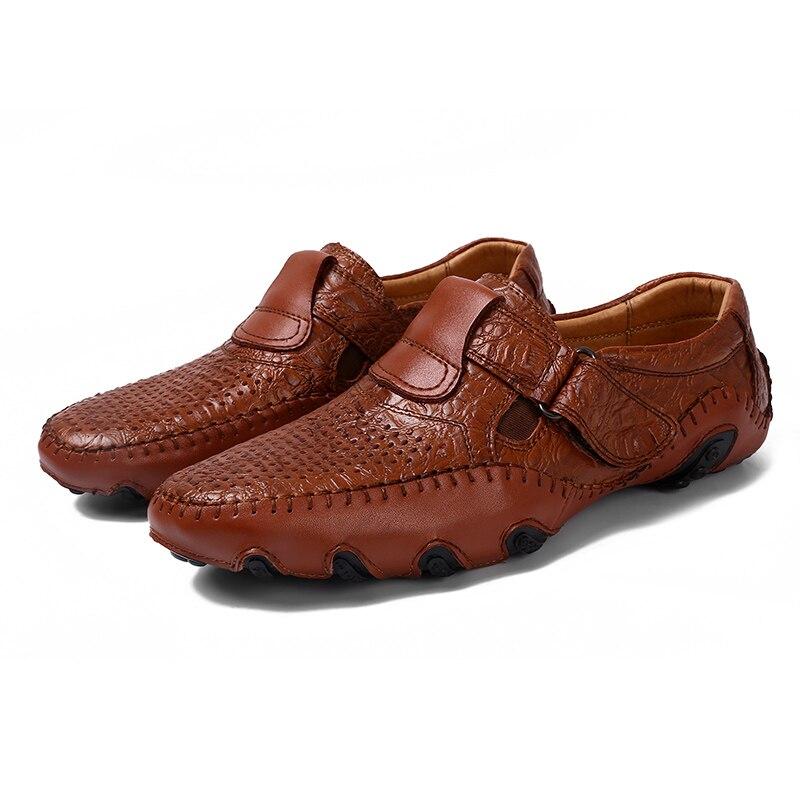 Haute 8895 8895 Britannique En Les Mode Zapatillas Hommes 8895 De Browm Causalité Deportivas Black Chaussures Split Style Qualité Plein Air 1 Brown Cuir Glissement Sur UzMpVS