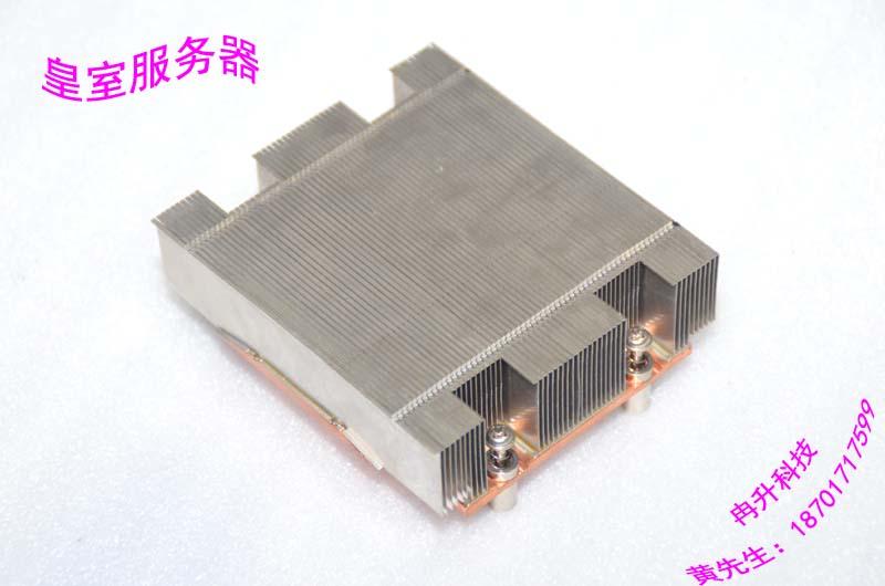 ФОТО 771-pin heatsink/1U server CPU heat sink aluminum radiator Cap pure copper base