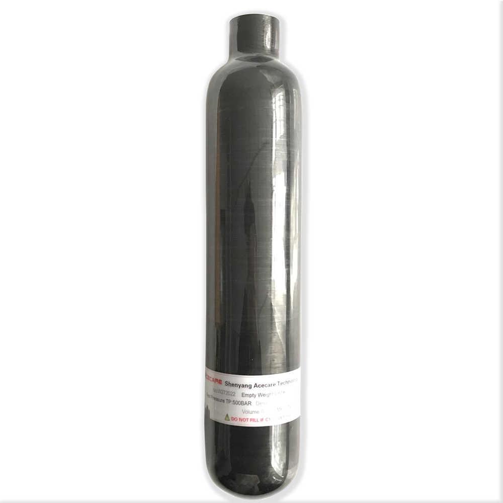 AC3050 Rifle de aire Pcp tanque 0.35L/0.5L regulador de Paintball 4500 Psi cilindro de alta presión Mini botella de buceo M18 * 1,5 hilos