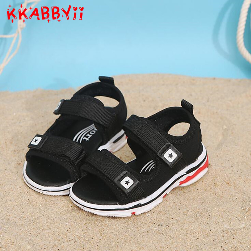 New Summer Boys Anti-slip Designer Sport Sandals New High Quality Kids Shoes Children Beach Slippers Sandals For Baby