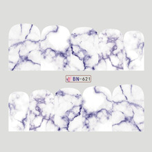 Marble Pattern Nail Art Stickers