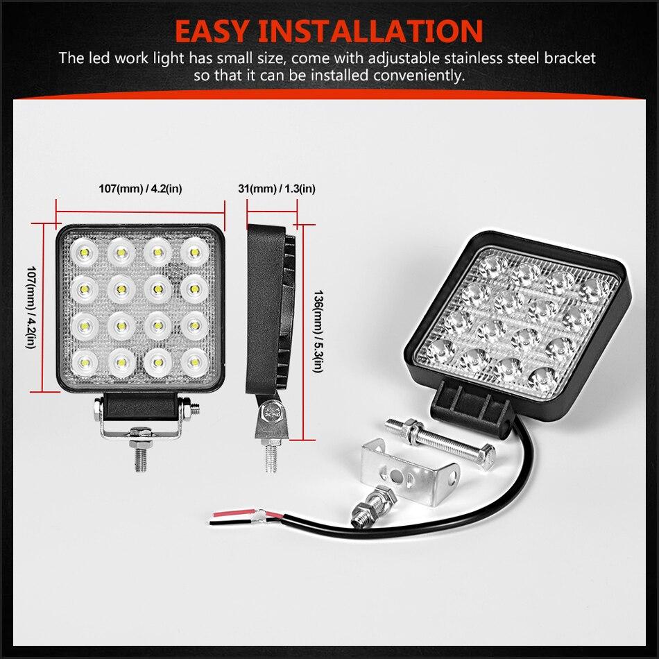 slim 48w led work light (7)
