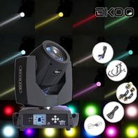 EKOO 230w 7R Zoom Moving Head Light Beam DMX DJ 8 + 16 Prisma Party American