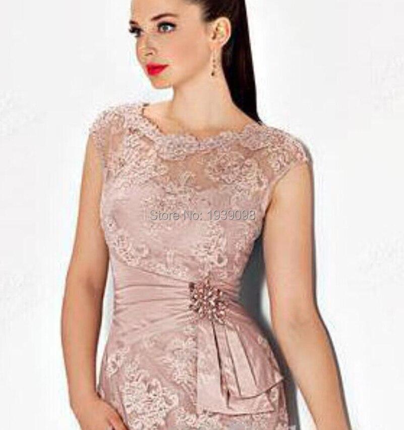 Vestidos Para Boda 2016 Short Pink Mother of The Bride Dresses Plus ...
