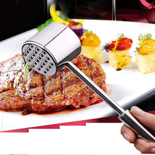 High-grade Stainless Steel, Beef Meat Hammer ,loose Steak Hammer, Smashing Tenderizer Pounders
