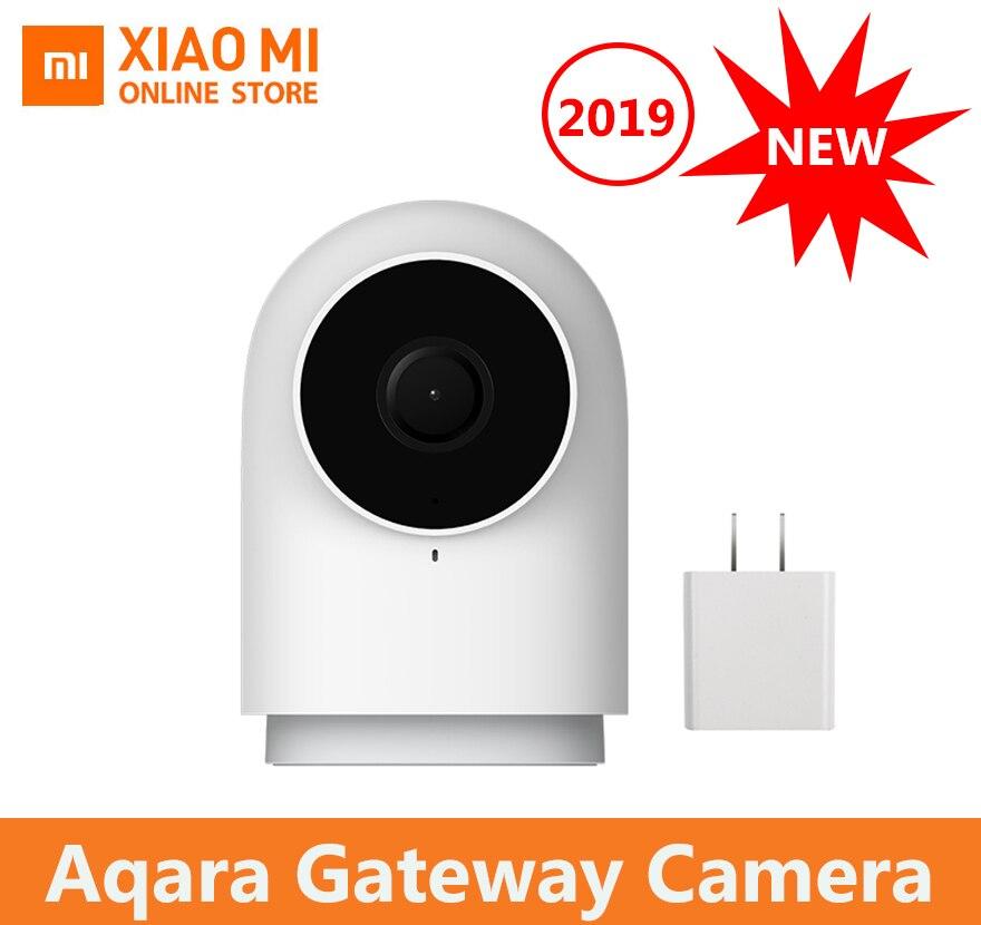 100% original xiaomi aqara câmera inteligente g2 1080 p gateway edição zigbee ligação inteligente wi fi sem fio nuvem de segurança em casa 2019