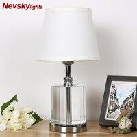 Crystal Table Lamp Desk lights lampe de chevet de chambre modern home decoration table lamps bedroom bedside led deco maison
