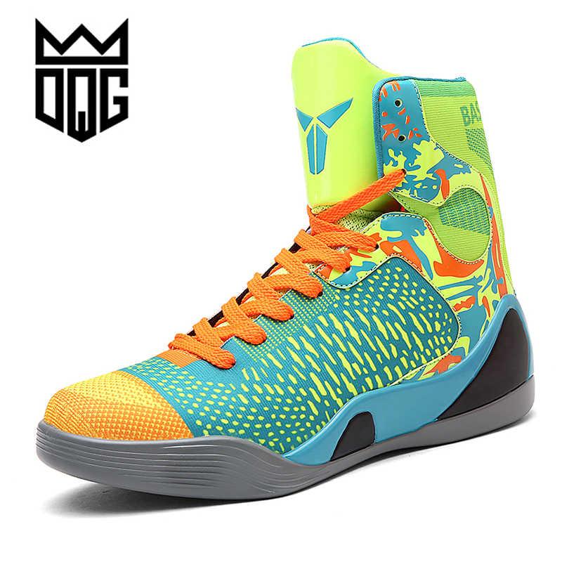 e668bb95dba Men Basketball Shoes Air Damping Men Basketball Sports Sneakers Women  Basketball Sneakers Male Outdoor Jordan Shoes