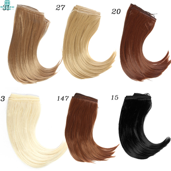 1pcs 25*100CM Doll wigs Big Bend hair For 1/3 1/4 1/6 BJD /SD dolls accessories muziwig new style bjd sd dolls wig hair heat resistant wire short curly wigs for 1 3 1 4 dolls accessories
