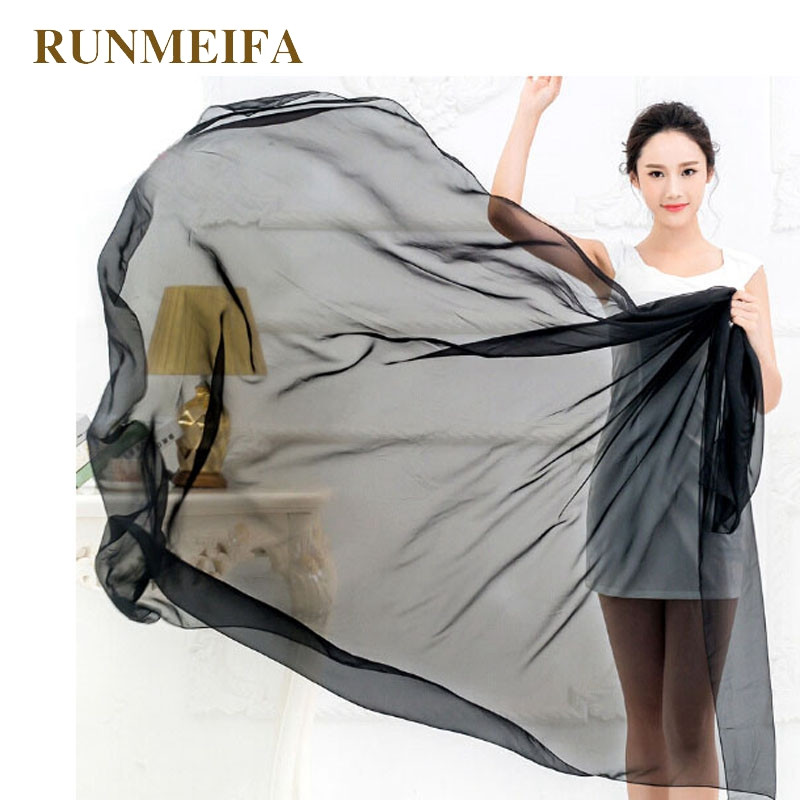 RUNMEIFA Beach Handduk Solid Plain Beach Cover Up Klänning Beach Wear Sexy Pareo Slät Sarong Gratis frakt 200 * 150